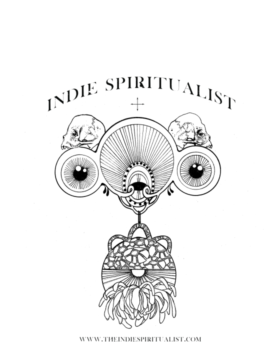 a logo I did recently for the Indie Spiritualist....